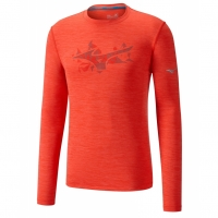 mizuno IMPULSE CORE GRAPHIC LS TEE