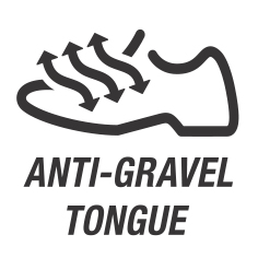 Anti Gravel Tongue / Анти-грязевый язычок