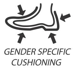 Gender Specific Forefoot  Cushioning / Амортизация носка с учетом гендерной специфики