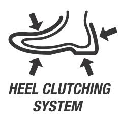 Heel Clutching System / Система стабилизации пятки