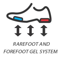 Rearfoot and Forefoot Gel / Гель в носочной и пяточной части