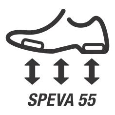 SpEVA 55 / Жесткость материала подошвы 55 едениц