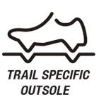 Trail Specific Outsole / Подошва для бездорожья