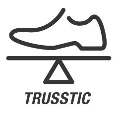 Trusstic System/ Система Трасстик - жёсткость, предотвращение скручивания стопы