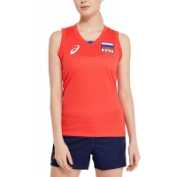 WOMAN RUSSIA SLEEVELESS TEE